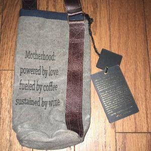 Mona B Up-Cycled Wine Bag